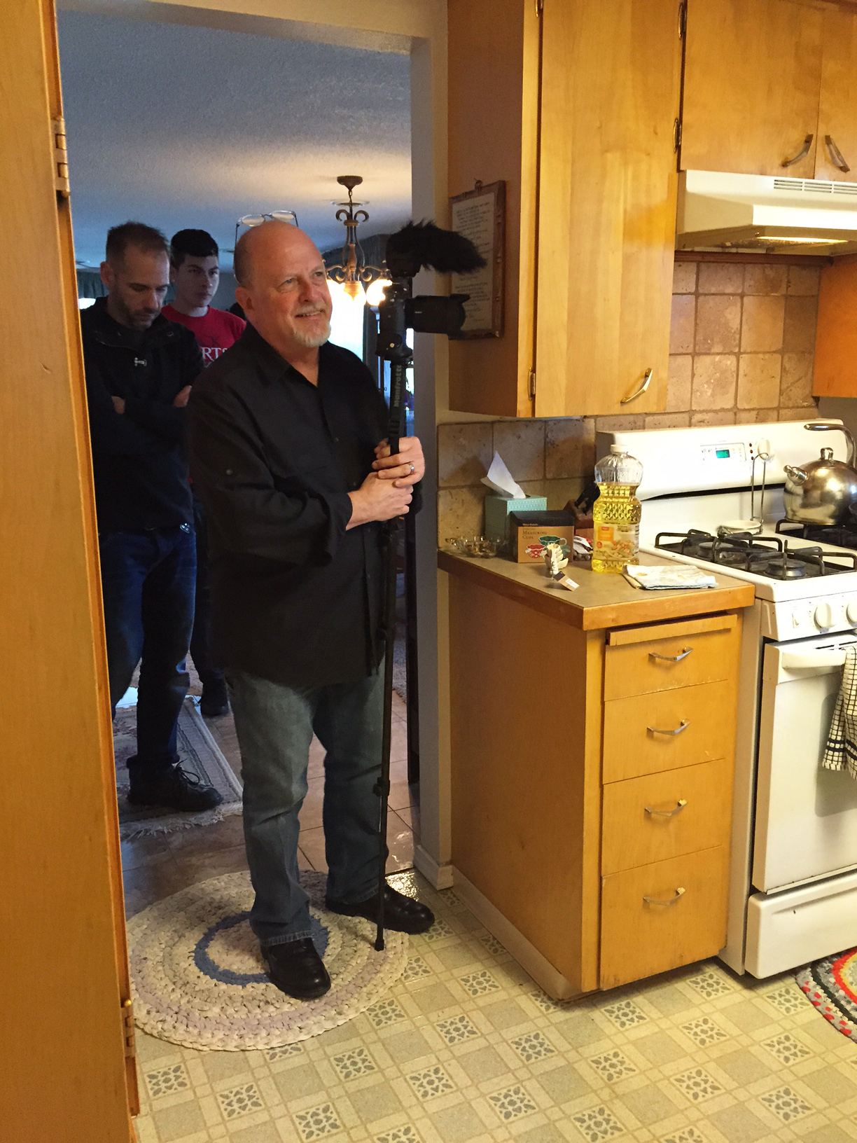 In the kitchen of our Foster Award Winners' home Nampa, ID.