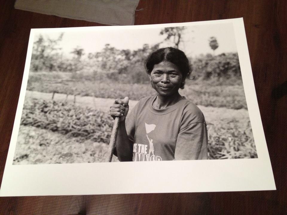 Cambodian Farmer Phnom Penh