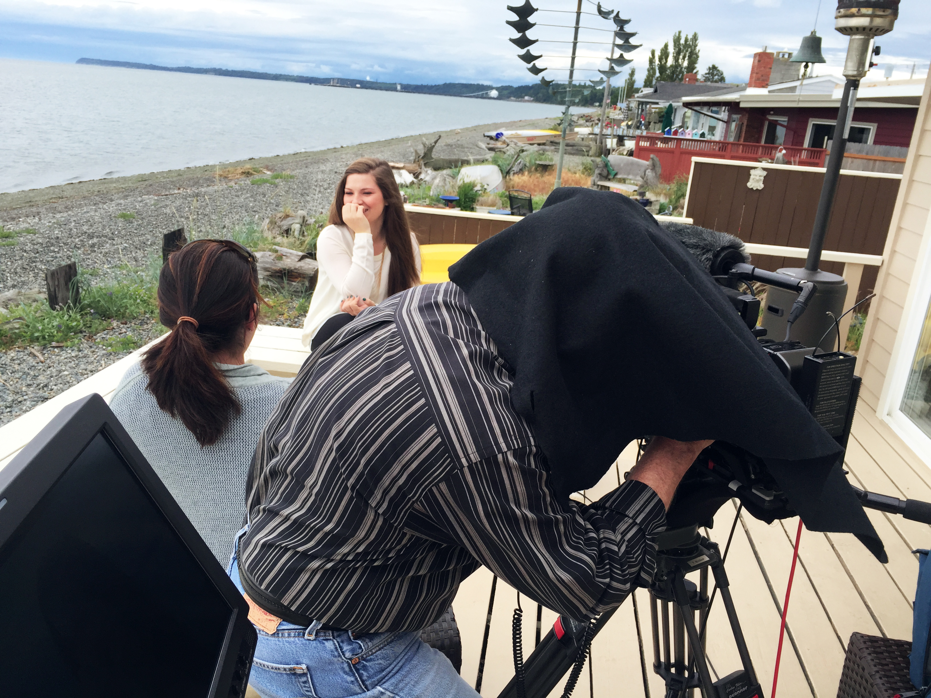 Filming in Bellingham